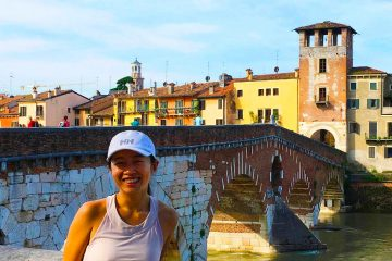Terraces Verona running tour