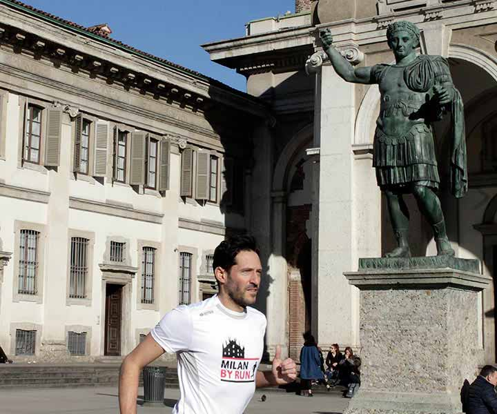 Top Milan running tour