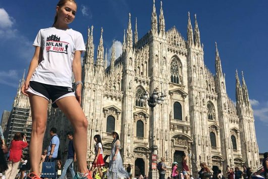 Milan by run