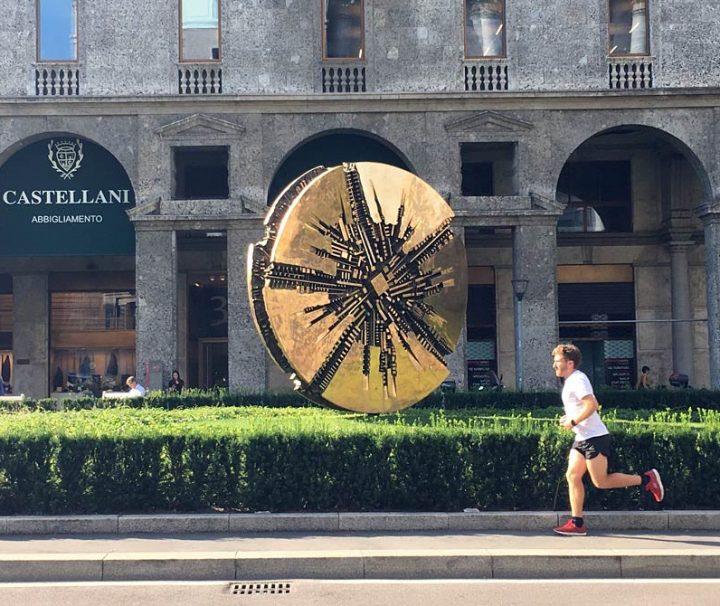 Modern Milan running tour